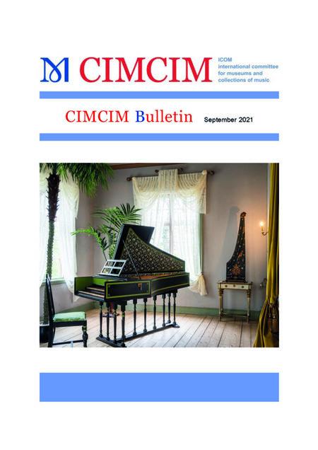 Vyšel nový Bulletin CIMCIM
