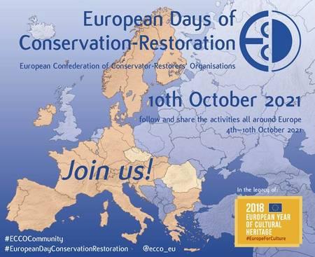 Evropský týden konzervování-restaurování 2021