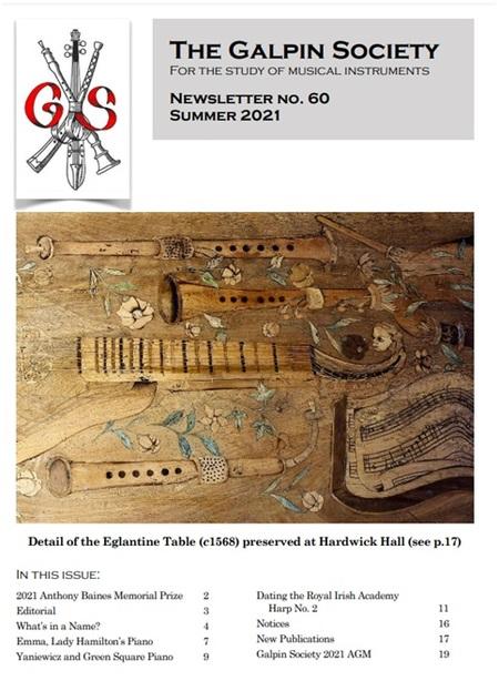 Nové číslo Galpin Society Newsletteru